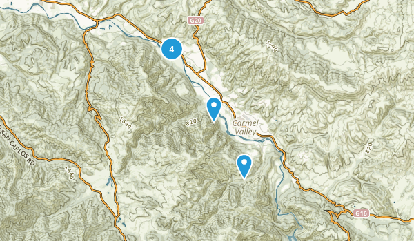 Carmel Valley, California Kid Friendly Map