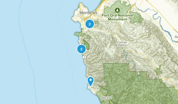 Carmel, California Views Map