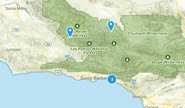 Carpinteria, California Bird Watching Map