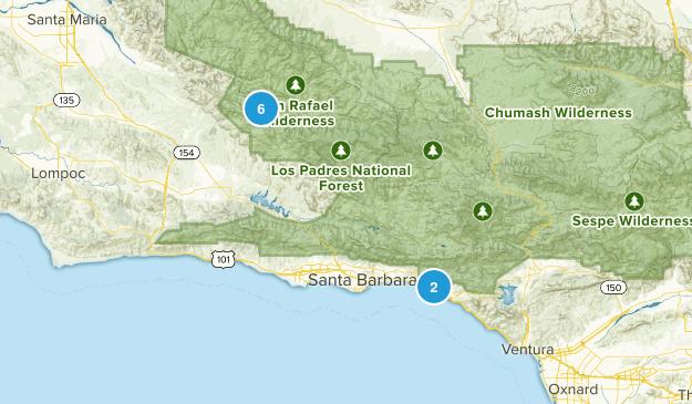 Carpinteria, California Views Map