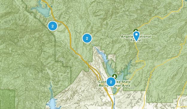 Castaic, California Wildlife Map