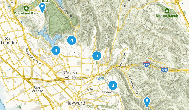 Best Views Trails Near Castro Valley California Alltrails