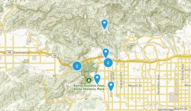 Chatsworth, California Views Map