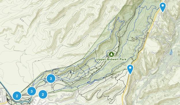Chico, California Nature Trips Map