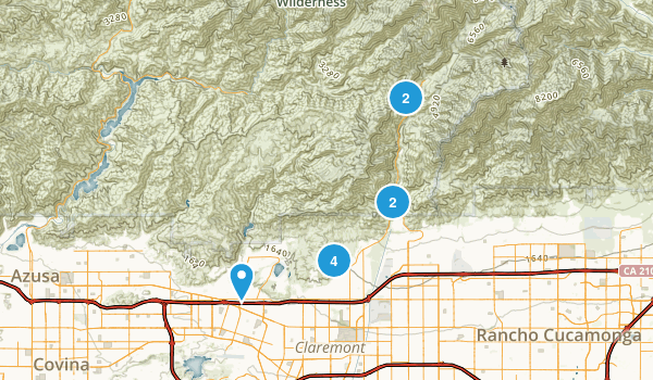Claremont, California Birding Map