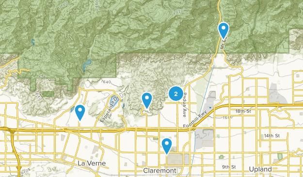 Claremont, California Kid Friendly Map
