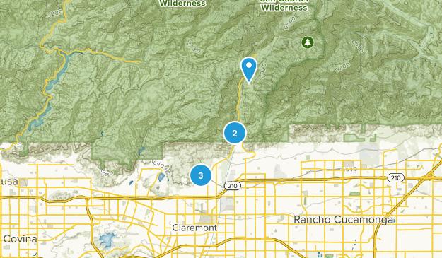 Claremont, California Wildlife Map