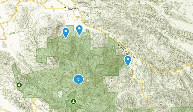 Clayton, California Kid Friendly Map