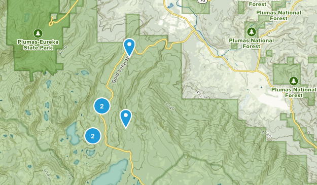 Clio, California Birding Map