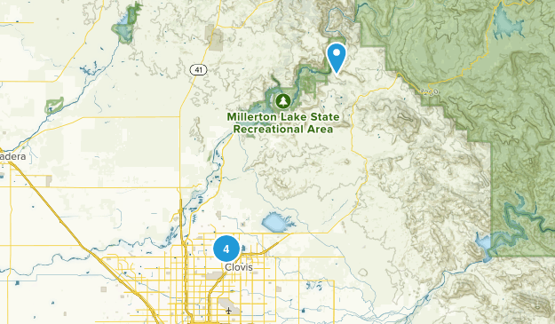 Clovis, California Dogs On Leash Map