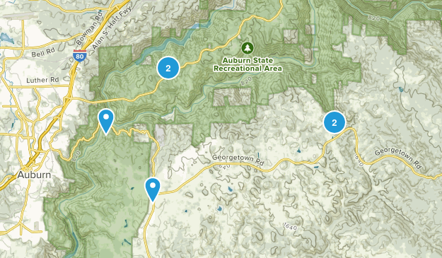 Cool, California Birding Map