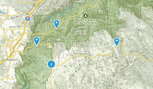 Cool, California Dogs On Leash Map