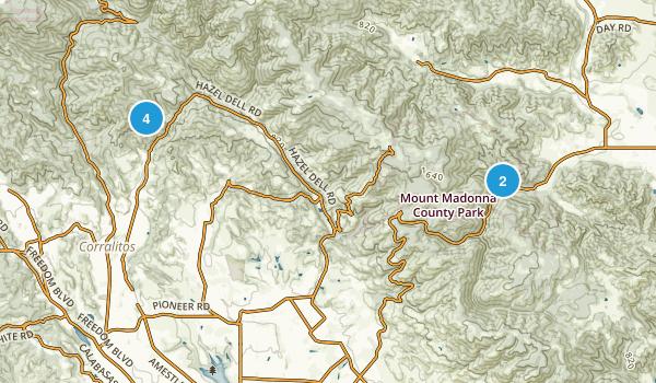 Corralitos, California Birding Map