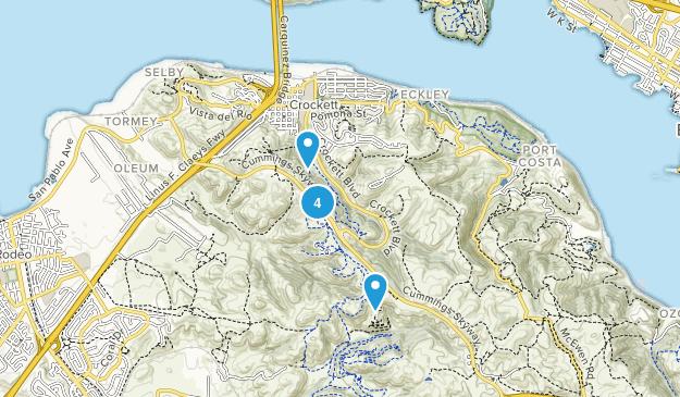 Best Trail Running Trails near Crockett, California | AllTrails