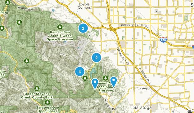 Cupertino, California Views Map