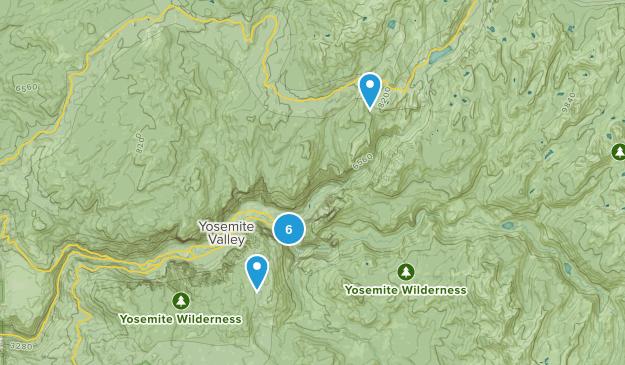 Curry Village, California Wildlife Map