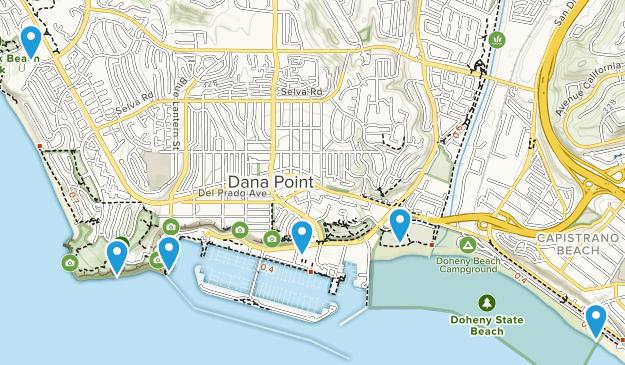 Dana Point, California Kid Friendly Map