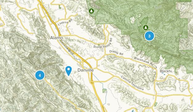 Danville, California Birding Map