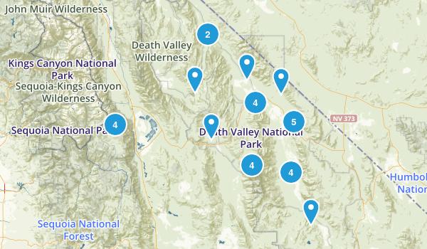 Best Hiking Trails near Death Valley California AllTrails