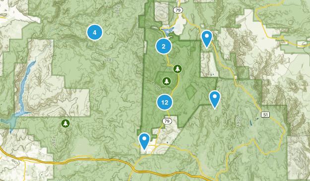 Descanso, California Birding Map