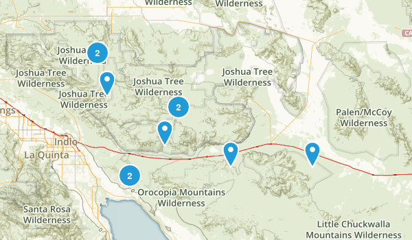 Best Off Road Driving Trails Near Desert Center California - Southern california map la quinta