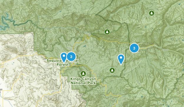 Dunlap, California Birding Map