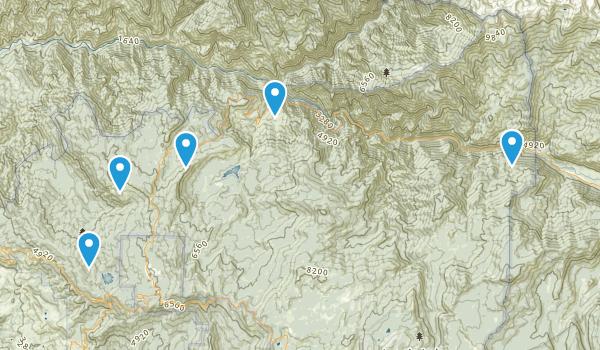 Dunlap, California Dogs On Leash Map