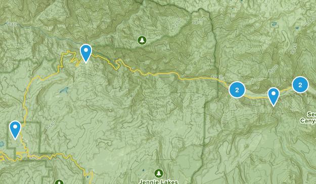 Dunlap, California River Map