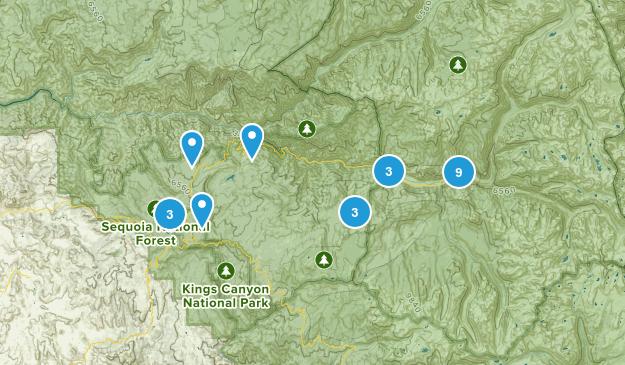 Dunlap, California Views Map
