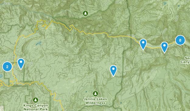Dunlap, California Wildlife Map