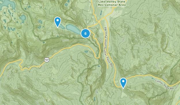 Echo Lake, California Birding Map