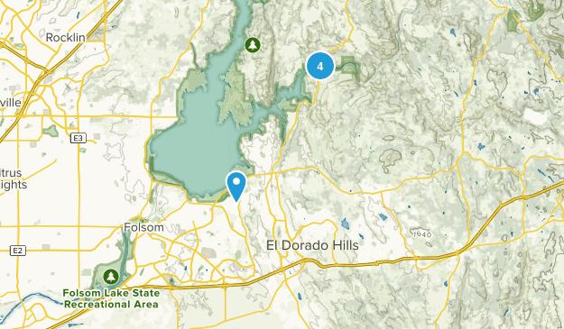 El Dorado Hills, California Birding Map