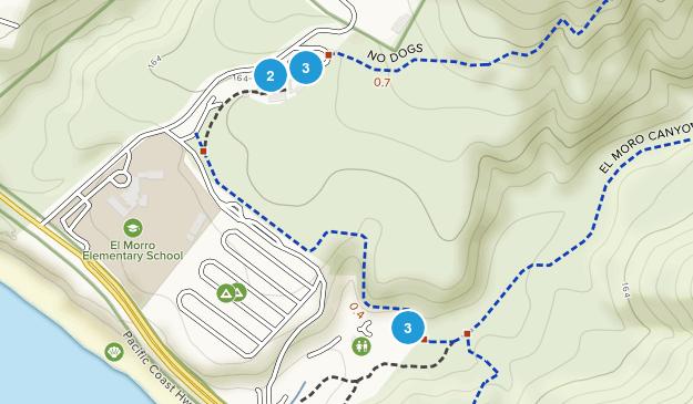 Emerald Bay, California Hiking Map