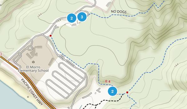Emerald Bay, California Walking Map