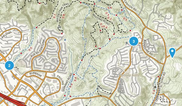 Foothill Ranch, California Birding Map
