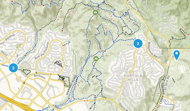 Foothill Ranch, California Nature Trips Map