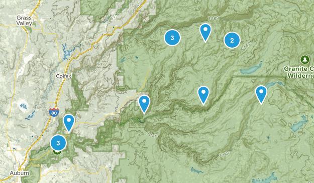 Foresthill, California Birding Map