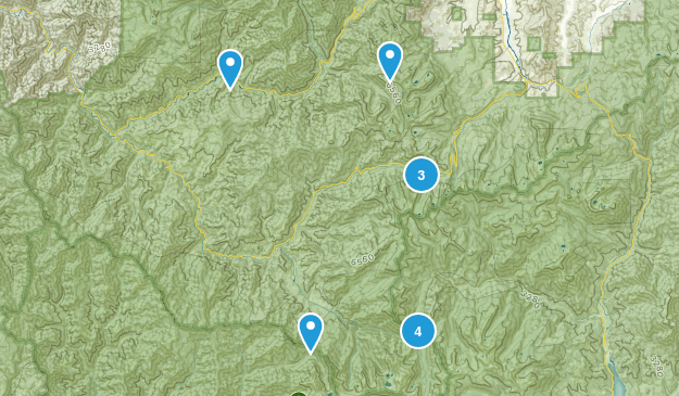 Forks of Salmon, California Nature Trips Map