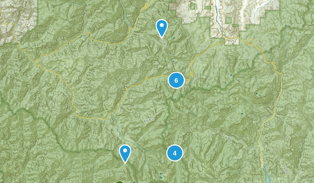 Forks of Salmon, California Wildlife Map