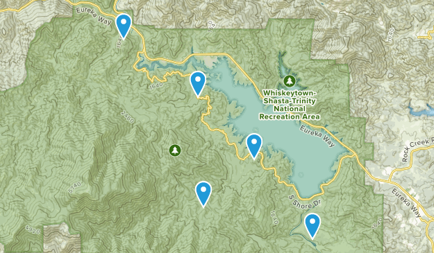 French Gulch, California Birding Map