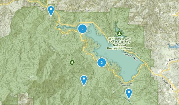 French Gulch, California Hiking Map