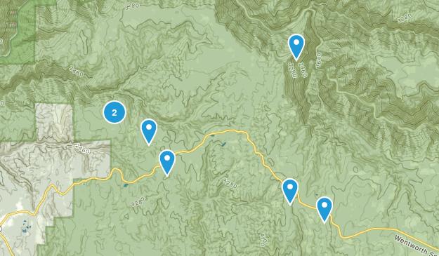 Georgetown, California Hiking Map