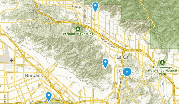 Glendale, California Dog Friendly Map