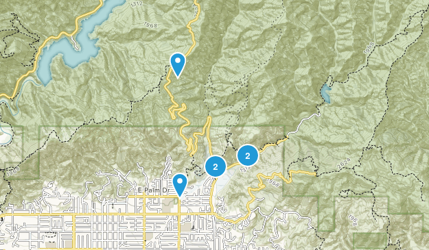 Glendora, California Dog Friendly Map