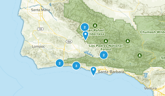 Goleta, California Wildlife Map