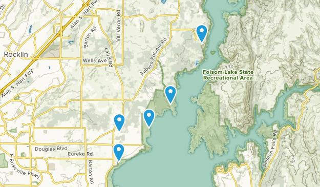 Granite Bay, California Nature Trips Map