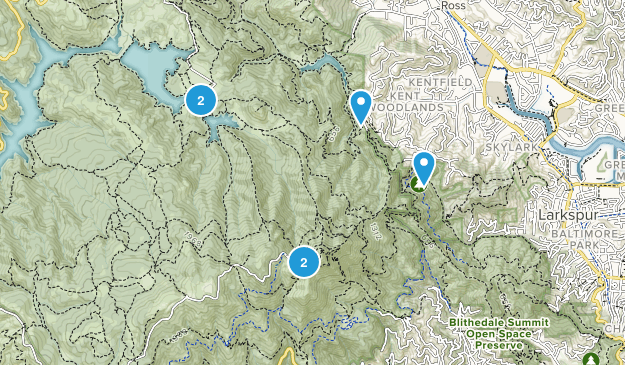 Greenbrae, California Walking Map