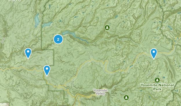 Groveland, California River Map