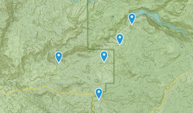 Groveland, California Waterfall Map