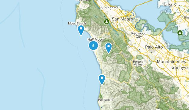 Half Moon Bay, California Kid Friendly Map